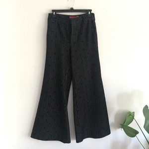 Anthropologie flare pants